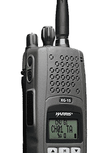 Harris XG-15P Two Way Portable Radio