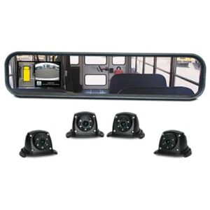 Safety Vision – HD Monitor/Mirror Combo + External Cameras